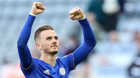 james maddison leicester midfielder good   england harry maguire bbc sport