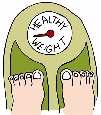Weight Gain Loss Healthy Clipart Lose Goal