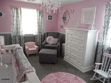 chambre bébé fille gris et deco chambre bebe fille gris