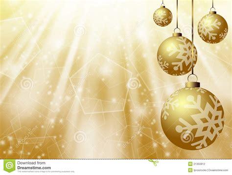 christmas gold background stock illustration image