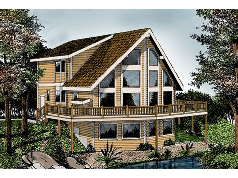 indian grove rustic  frame home plan   house plans
