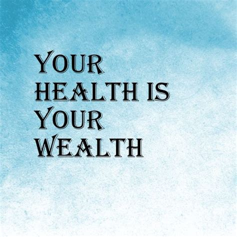 Your health is EVERYTHING Your ability to take care of