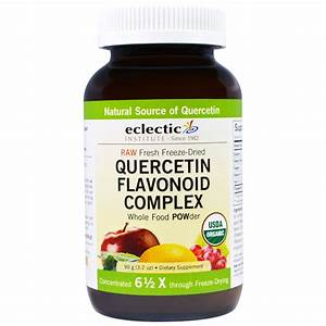 Eclectic Institute  Quercetin Flavonoid Complex  Whole Food Powder  3 2 Oz  90 G  In 2020