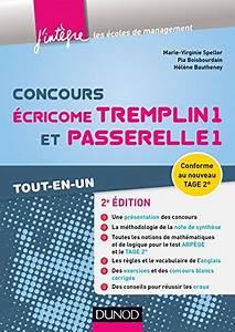 Concours Passerelle 1 : gratuits ebooks francais concours cricome tremplin 1 et passerelle 1 2e d tout en un ~ Medecine-chirurgie-esthetiques.com Avis de Voitures