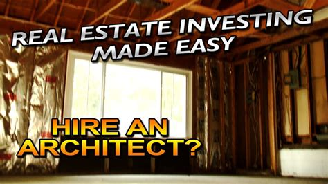hire an architect hire an architect real estate investing made easy 5