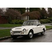 OLD PARKED CARS 1968 Datsun Fairlady 1600 Roadster