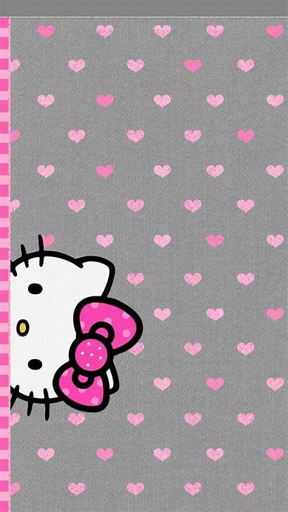 Kitty Hello Wallpapers Iphone Phone Fondos Cell