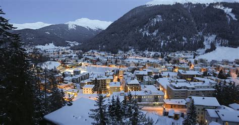 promising winter season  davos