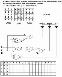 Traffic Lights Tutorial Diagram  U0026 Circuits