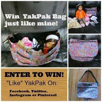foto de Karen Mom of Three Blog Yak Pak Review Paks Yak Bags