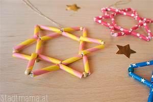 Sterne Selber Basteln Mit Perlen : weihnachtsbaumschmuck mit kindern basteln 5 einfache ~ Lizthompson.info Haus und Dekorationen