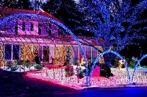 outdoor christmas light show your christmas light display could win you a tesla