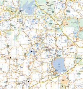 Brainerd Lakes Area Map