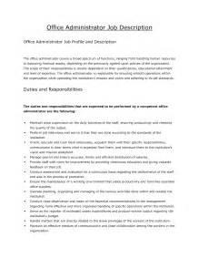 administrator description resume 2016 administrator description resume recentresumes