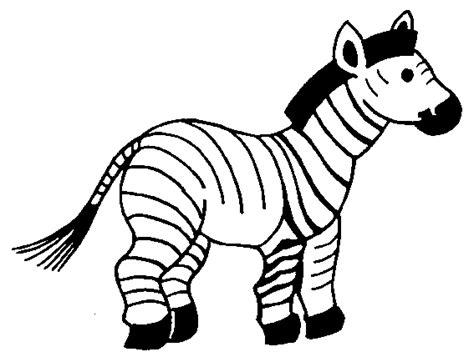 Free Animal Wild Zebra Coloring Sheet To Print