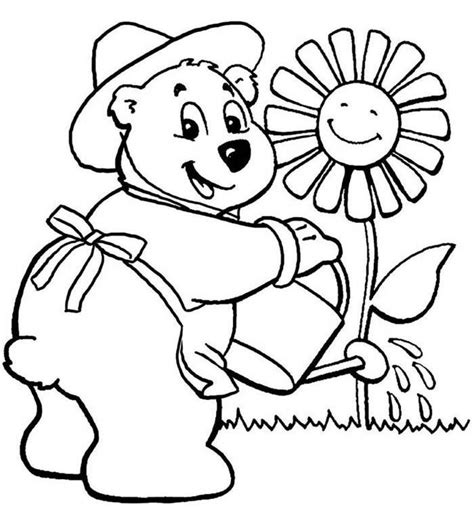 flower coloring pages coloringsuitecom