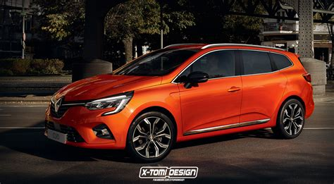 renault clio grandtour rendered    coming