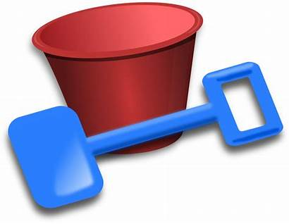 Bucket Spade Clip Remix Onlinelabels Svg Faq