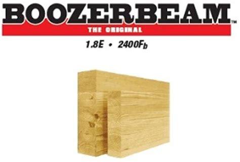 boozer glulam beams engineered wood  lumber