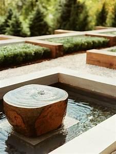 Brunnen Garten Modern : 52 erstaunliche bilder von gartenbrunnen zum inspirieren ~ Michelbontemps.com Haus und Dekorationen