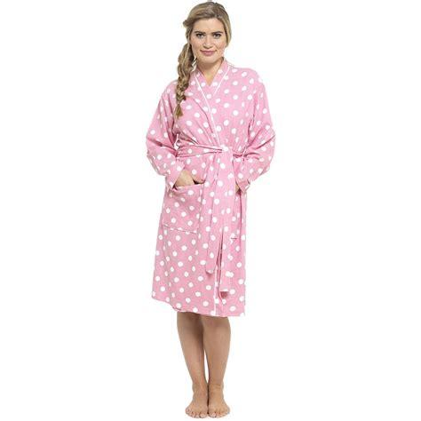 robe de chambre coton femmes pois gaufre peignoir 100 coton robe de chambre