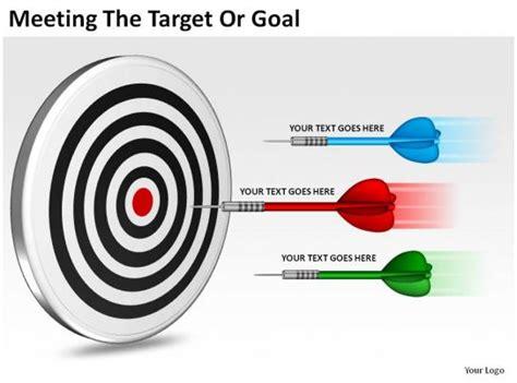 meeting  target  goal   diagrams templates