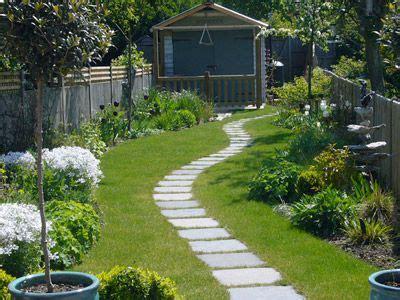 narrow garden ideas  pinterest small narrow