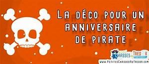 Deco Anniversaire Pirate : anniversaire de pirate 7 id es indispensables ~ Melissatoandfro.com Idées de Décoration
