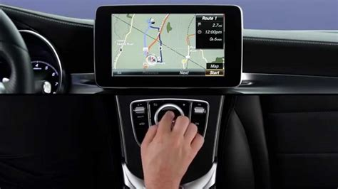 How To Navigation Destination (touchpad) — Mercedesbenz Owner Support Youtube