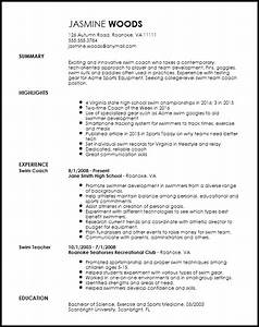 Sample Coach Cover Letter Free Contemporary Sports Coach Resume Template Resume Now