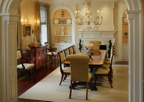 period colonial home dining room philadelphia