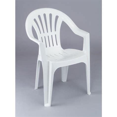 chaise de jardin plastique fauteuil jardin plastique