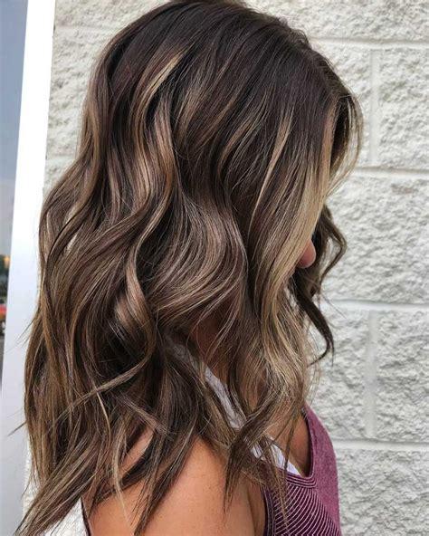 braune haare mit highlights 20 hei 223 esten balayage haarfarbe ideen beliebte