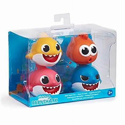 Shark Toys Bath Toy Pack Squirt Brinquedo