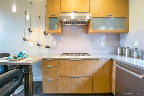 kitchen with glass backsplash 15 glass backsplash ideas to spark your renovation ideas