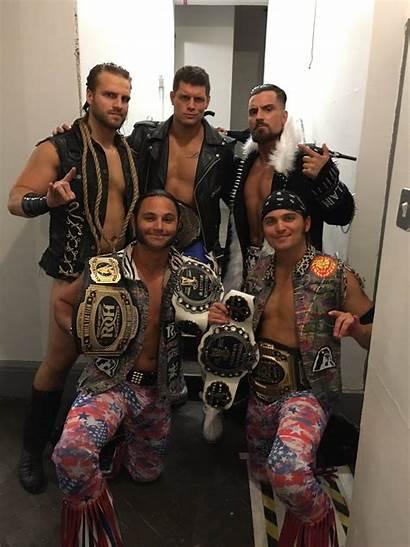 Wrestling Adam Cody Rhodes Nick Jackson Matt