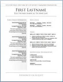 curriculum vitae template wordpad free free cv templates 36 to 42 freecvtemplate org