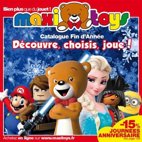 foto de Catalogue Maxi Toys Noel 2015 : promos et remises