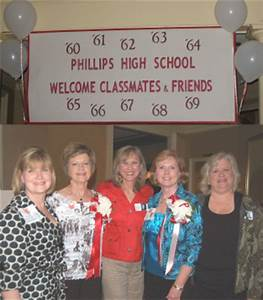 Phillips High School 60's Reunion Party