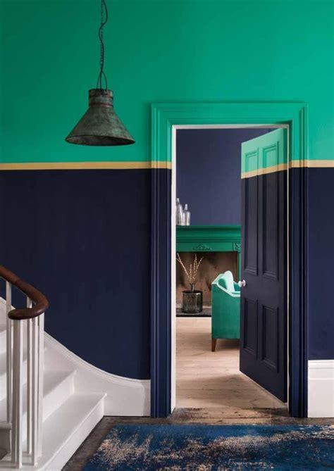 idees de couleurs pour une peinture couloir originale