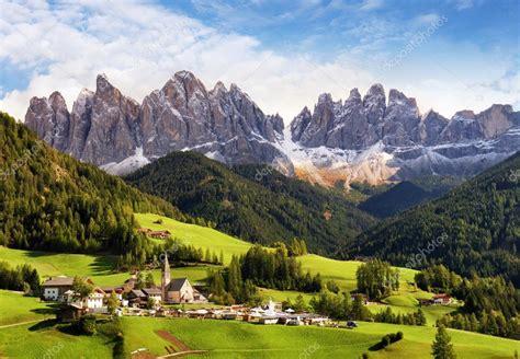 Val Di Funes Trentino Alto Adige Italy The Great