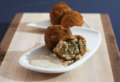 boudin balls fried boudin balls with remoulade sauce recipe