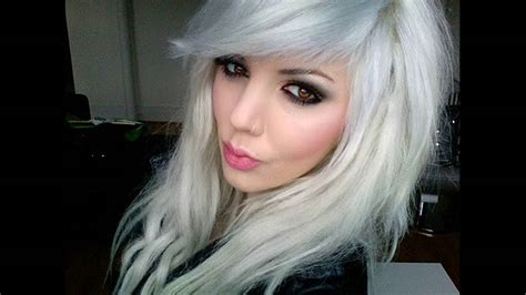 And White Hair by Ammonia Free Hair Dyes Is Best Hair Color For Gray And