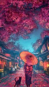 Japanese, Street, Scenery, Mobile, Wallpaper