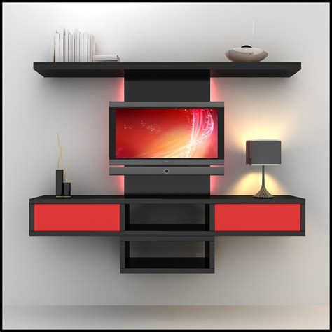 tv wall unit modern design tv wall unit modern design x 09 2 3d models cgtrader com