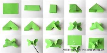 Tutorial Le Origami by Lavoretti Di Primavera Volo Di Farfalle Origami Alessia