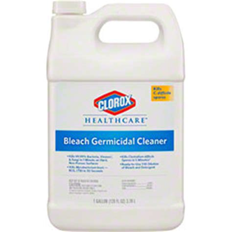 Clorox Disinfecting Bathroom Cleaner Sds Sheet by Clorox 174 Healthcare 174 Germicidal Cleaner 128 Oz