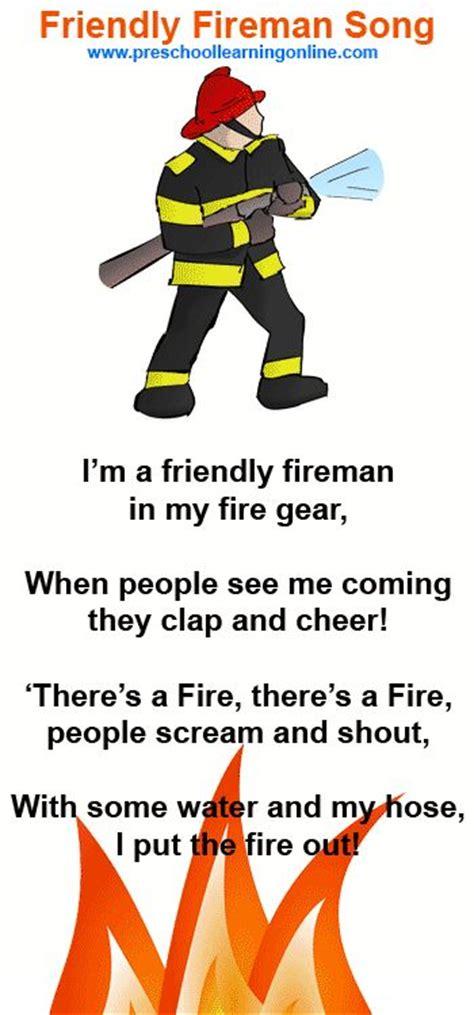 best 25 fireman song ideas on safety 949 | 3f917ba0fbfe9020022018ca04a1b050 songs for preschoolers preschool songs