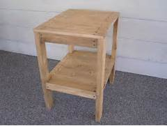 Make Outdoor Wood Table by DIY PLANS To Make End Table Set Indoor Outdoor By Wingstoshop