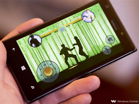 shadow fight 2 slashes its way onto windows phone windows central